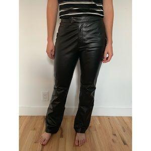 Copper Key Leather Pants